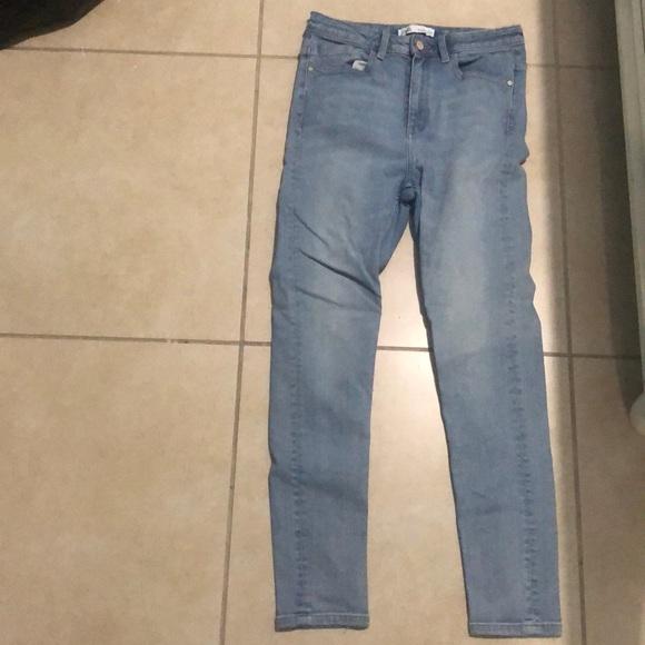 High Waist Zara Skinny Jeans